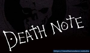 Death note type game - Write in the Death Note. Play Death Note Type Game online for free. Anime mind games