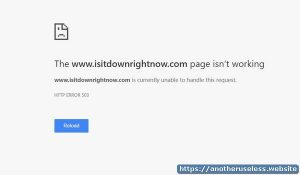 Is it down - downforeveryoneorjustme will tell you if a website is down for everyone or just you. Isitdown can check if a website is down